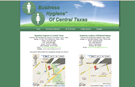 Business Hygiene website, San Marcos, Texas